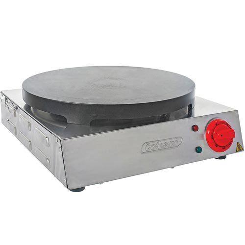Crepeira Elétrica Antiaderente p/ Crepe Francês Cotherm 127V  - ZIP Automação