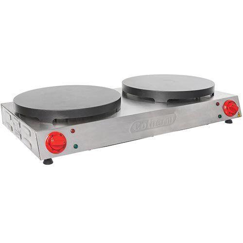 Crepeira Elétrica Dupla Antiaderente p/ Crepe Francês Cotherm 220V  - ZIP Automação