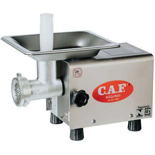 Picador de Carnes Boca 05 CAF-5 Inox - CAF Máquinas  - ZIP Automação