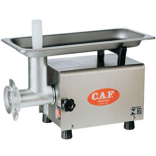 Moedor de Carnes Boca 08 CAF-8 Inox - CAF Máquinas  - ZIP Automação