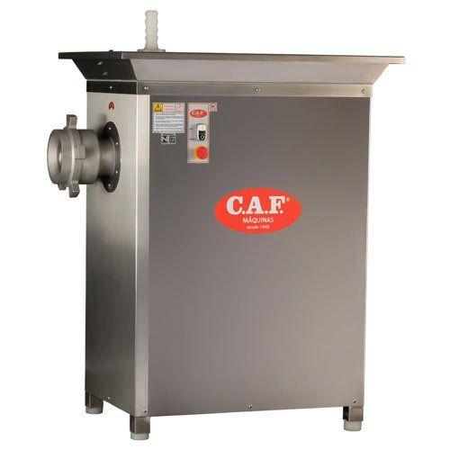 Moedor de Carnes Boca 106 CAF-106 C Inox - CAF Máquinas  - ZIP Automação