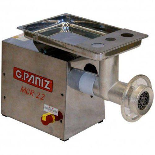 Moedor de Carne Inox Boca 22 G.Paniz MCR-22 127V  - ZIP Automação