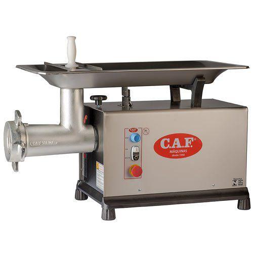 Moedor de Carnes Boca 98 CAF-98 DS Inox - CAF Máquinas  - ZIP Automação