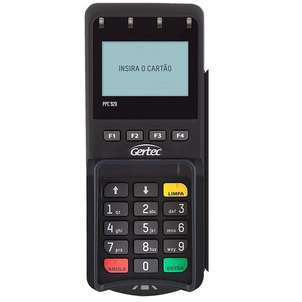 Pin Pad Gertec PPC 920 Serial  - ZIP Automação