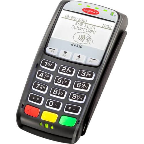 Pin Pad Ingênico iPP320  - ZIP Automação