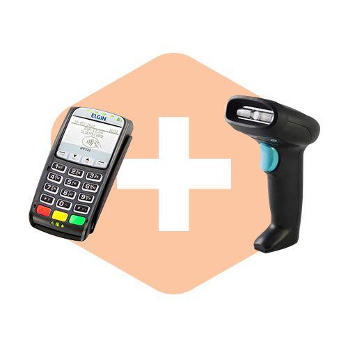 Pin Pad iPP320 ingênico + Leitor HH360 Honeywell  - ZIP Automação