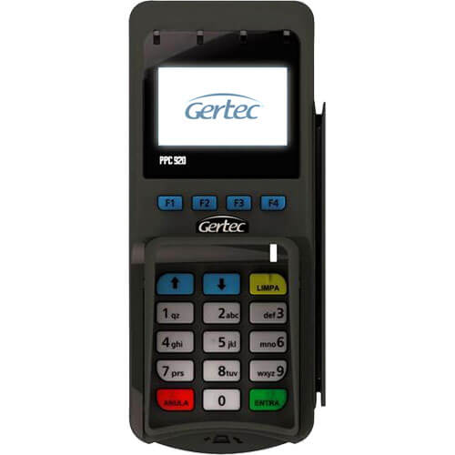 Pin Pad PPC 920 - Gertec  - ZIP Automação