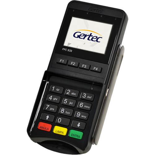 Pin Pad Gertec PPC 930  - ZIP Automação