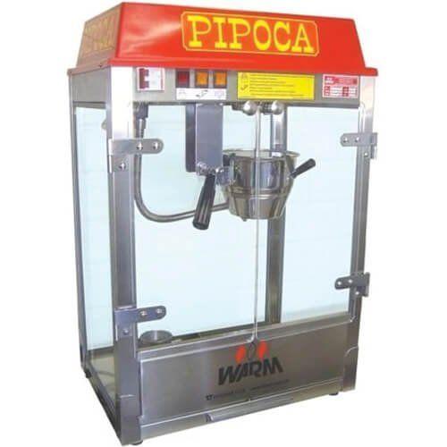 Pipoqueira Elétrica 160g / 6oz MPL - Warm  - ZIP Automação
