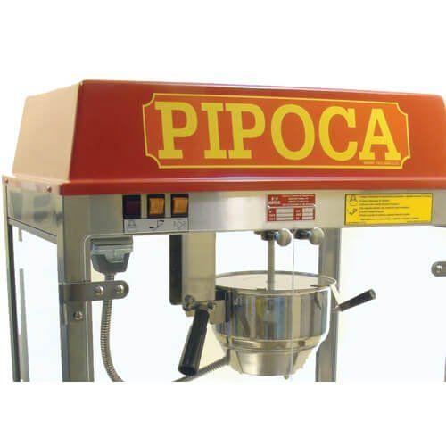Pipoqueira Elétrica 250g / 8oz PPL - Warm  - ZIP Automação