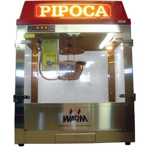 Pipoqueira Elétrica 900g / 32oz PSX Standart - Warm  - ZIP Automação