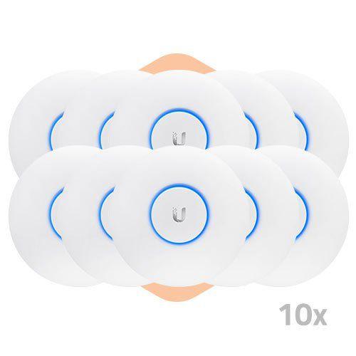Ponto de Acesso UniFi AP AC Lite - Ubiquiti - 10 Unidades  - ZIP Automação