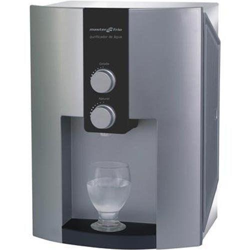 Purificador de Água 2L Masterfrio Master Home Inox Bivolt  - ZIP Automação