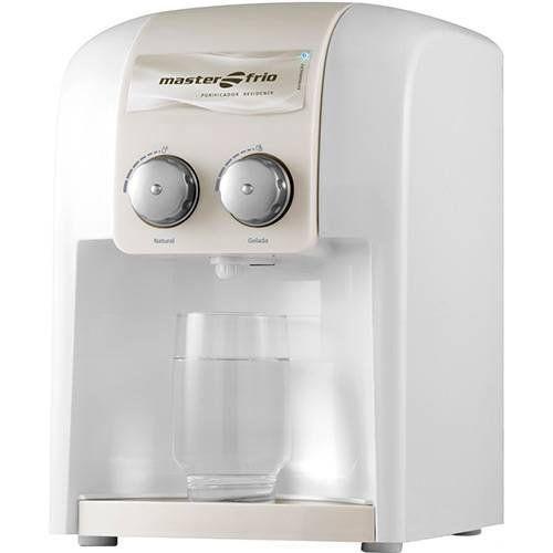 Purificador de Água 1,7L Masterfrio Residence Branco Bivolt  - ZIP Automação