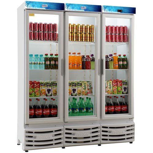 Refrigerador Expositor Vertical 1050L Frilux Visacooler RF-007 Slin 127V  - ZIP Automação