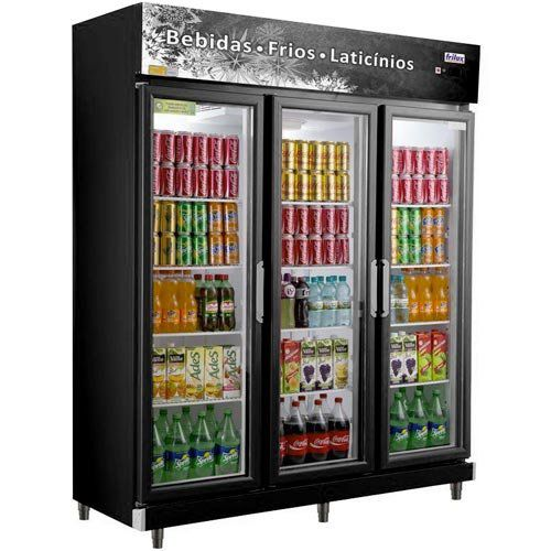 Refrigerador Expositor Vertical 1080L Frilux Economic Visacooler RF-022 127V  - ZIP Automação
