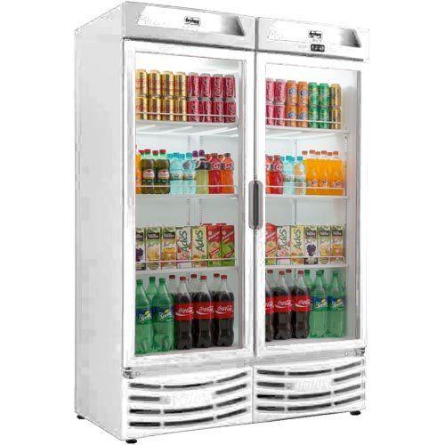 Refrigerador Expositor Vertical 1200L Frilux Visacooler RF-006 220V  - ZIP Automação