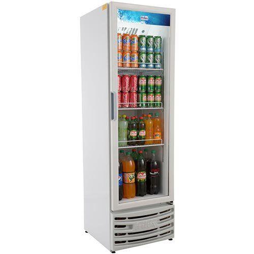 Refrigerador Expositor Vertical 300L Frilux Visacooler RF-003 127V  - ZIP Automação