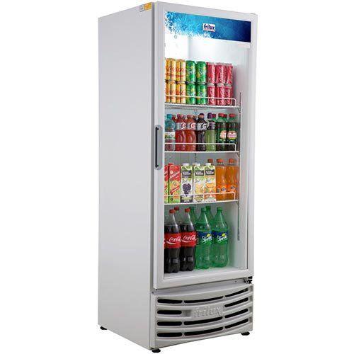 Refrigerador Expositor Vertical 410L Frilux Visacooler RF-004 Branco 220V  - ZIP Automação