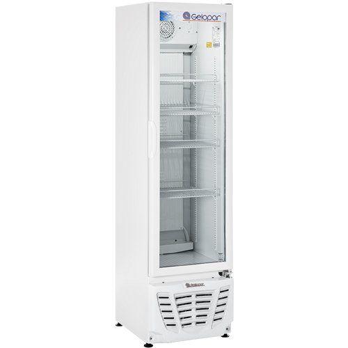 Refrigerador Expositor Vertical 230L Gelopar Turmalina GPTU-230 BR 220V  - ZIP Automação