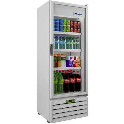 Refrigerador Vertical 406L VB40RE - Metalfrio  - ZIP Automação