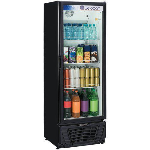 Refrigerador Expositor Vertical 414L Gelopar Turmalina GPTU-40 PR 220V  - ZIP Automação