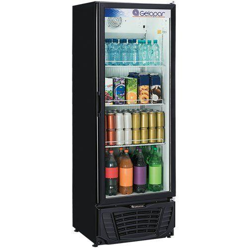 Refrigerador Vertical 414L GPTU-40 PR - Gelopar  - ZIP Automação