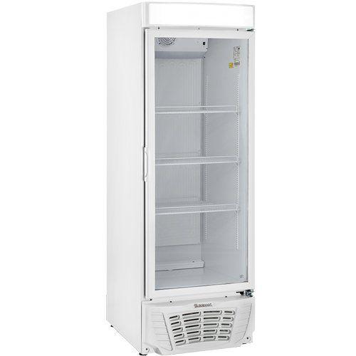 Refrigerador Expositor Vertical 570L Gelopar Esmeralda GLDR-570AF BR 220V  - ZIP Automação