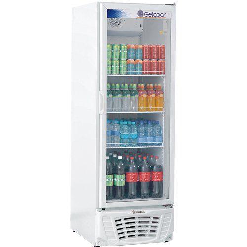 Refrigerador Expositor Vertical 570L Gelopar Turmalina GPTU-570 BR 220V  - ZIP Automação