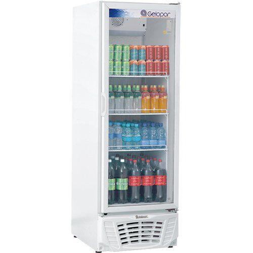 Refrigerador Expositor Vertical 570L Gelopar Turmalina GPTU-570AF BR 220V  - ZIP Automação