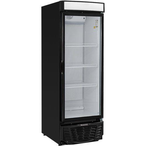 Refrigerador Expositor Vertical 570L Gelopar Esmeralda GLDR-570 PR 127V  - ZIP Automação