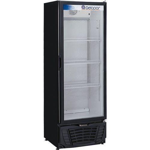 Refrigerador Expositor Vertical 570L Gelopar Turmalina GPTU-570 PR 127V  - ZIP Automação