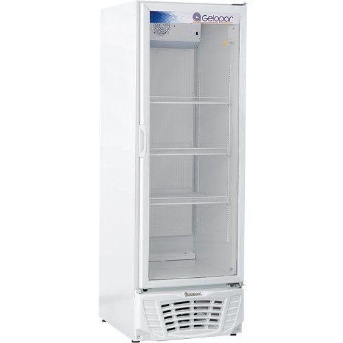 Refrigerador Expositor Vertical 570L Gelopar Turmalina GPTU-570AF BR 127V  - ZIP Automação