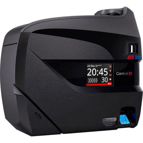 Relógio de Ponto Biométrico / Proximidade / Senha Control ID REP iDClass c/ Nobreak  - ZIP Automação