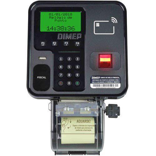 Relógio de Ponto Biométrico Dimep Smart Point  - ZIP Automação