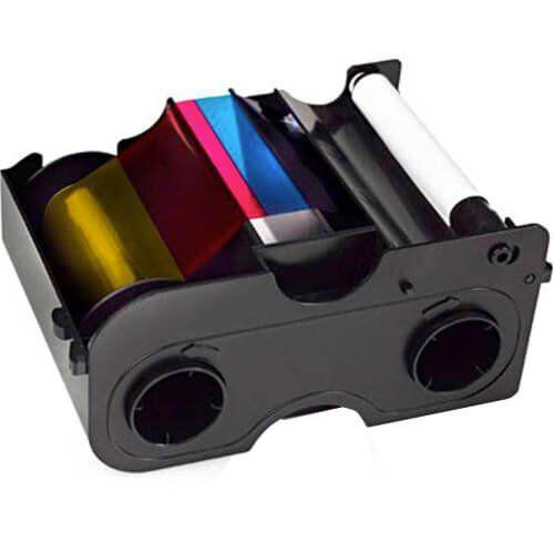 Kit Ribbon Colorido EZ YMCKO DTC1000/DTC1250e - HID  - ZIP Automação