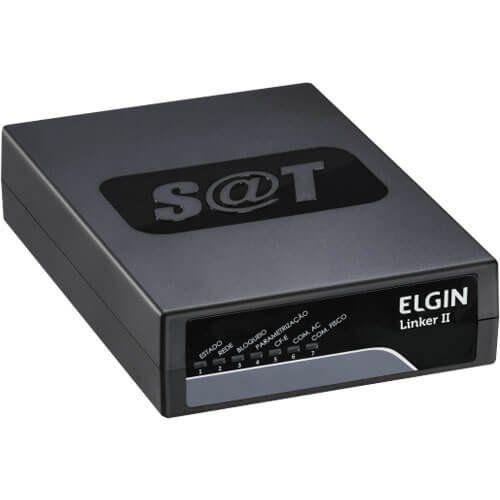 SAT NFC-e Cupom Fiscal SP Elgin Linker SAT II USB c/ Ativação