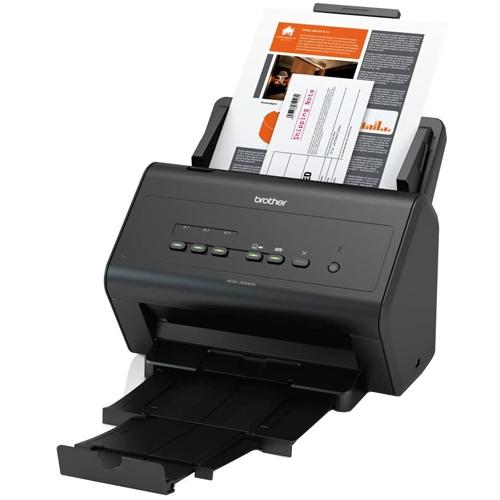 Scanner Brother ADS-3000N Ethernet / USB  - ZIP Automação