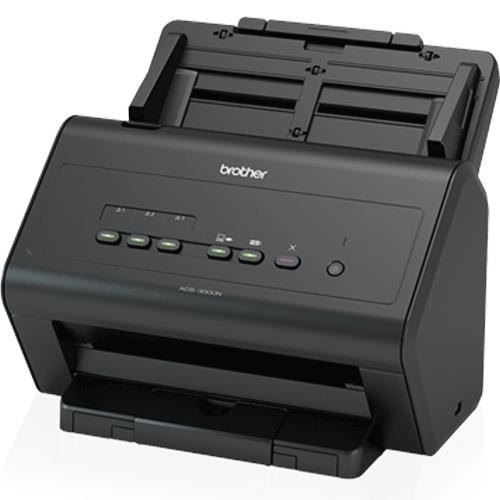 Scanner Brother ADS-300N Ethernet / USB  - ZIP Automação