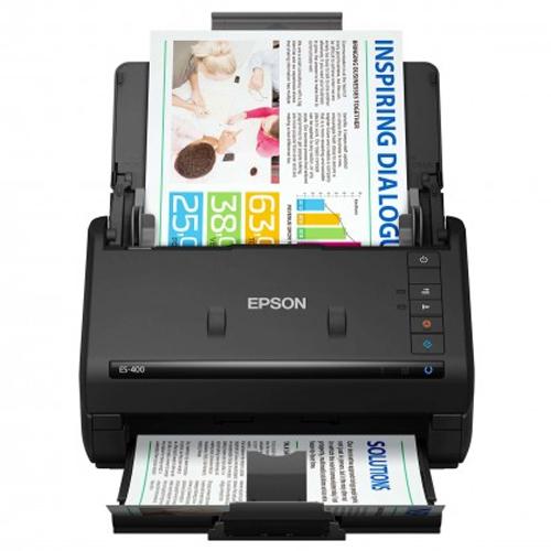 Scanner Epson WorkForce ES-400 USB  - ZIP Automação