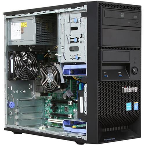 Servidor Lenovo ThinkServer TS150 Xeon E3-1225 v5 3.3GHz HD1000GB  - ZIP Automação
