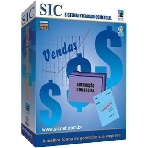Programa Sicnet Sistema Integrado Comercial  - ZIP Automação