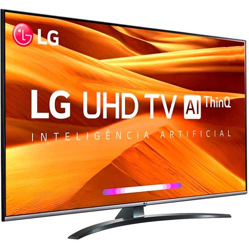 Smart TV LED 65 pol. 4K UHD LG 65UM761C0SB.BWZ  - ZIP Automação
