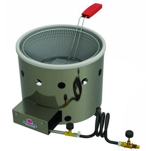 Tacho de Fritura a Gás Alta Pressão Inox 3L Progás PR-310G G2  - ZIP Automação