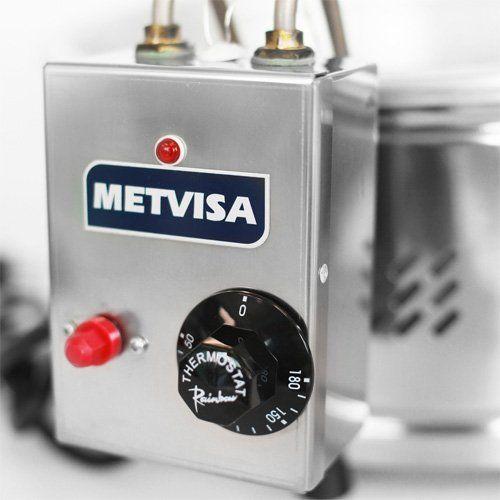 Tacho de Fritura Elétrico Inox 6L Metvisa TFE.6 127V  - ZIP Automação