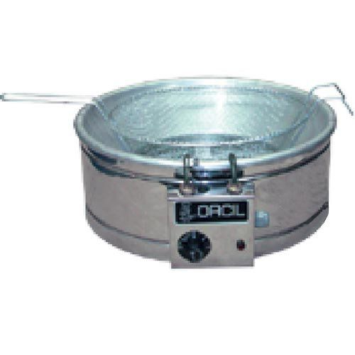 Tacho de Fritura Elétrico Inox 7L Orcil TE7 127V  - ZIP Automação