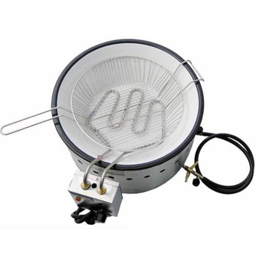 Tacho de Fritura Flex (Elétrico e a Gás) 7L Ital Inox TFEI-7 F 127V  - ZIP Automação