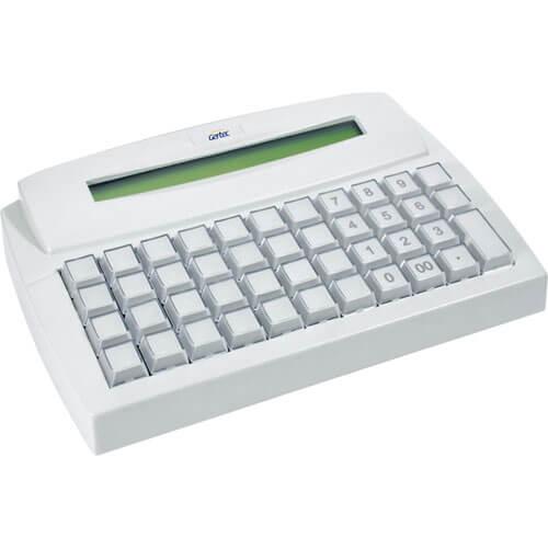 Teclado Programável Gertec TEC 44 c/ Display PS2  - ZIP Automação
