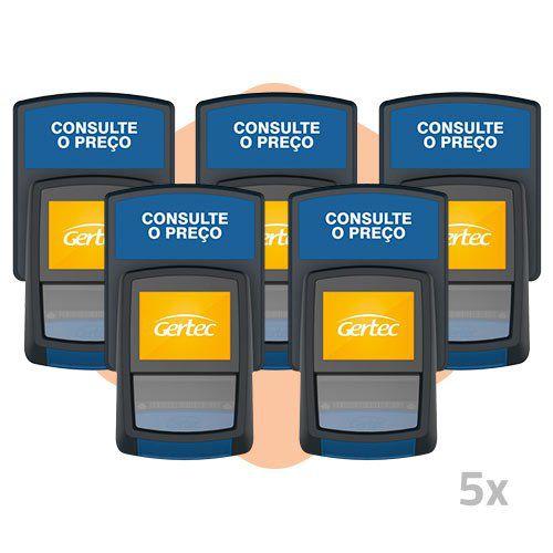 Terminal de Consulta BuscaPreço G2 - Gertec - 5 Unidades  - ZIP Automação