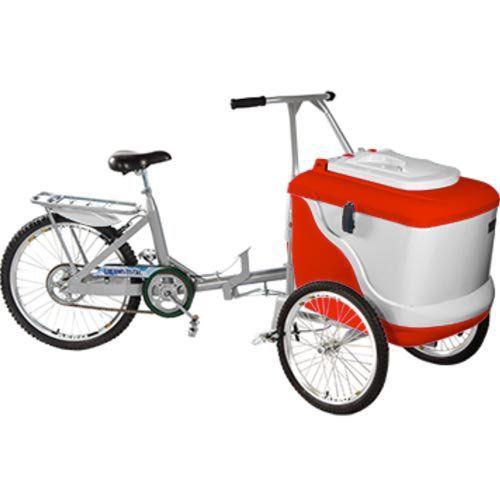 Triciclo para Sorvete 54L Thermototal L450  - ZIP Automação